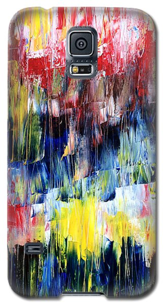 Galaxy S5 Case featuring the painting Summer Haze by Rebecca Davis
