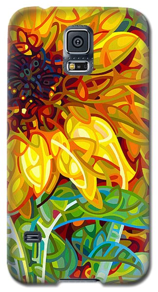 Summer In The Garden Galaxy S5 Case