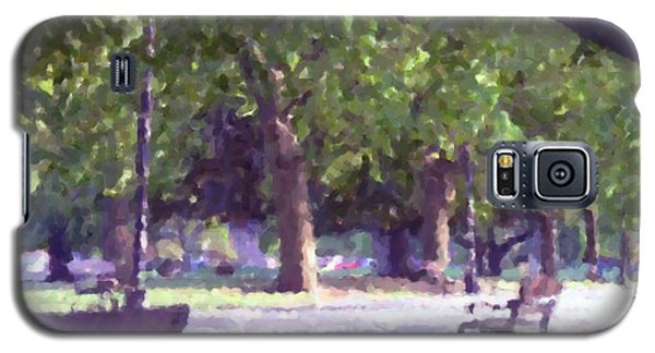 Summer In The Park Galaxy S5 Case