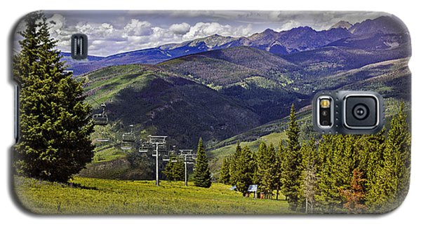 Summer Lifts - Vail Galaxy S5 Case by Madeline Ellis