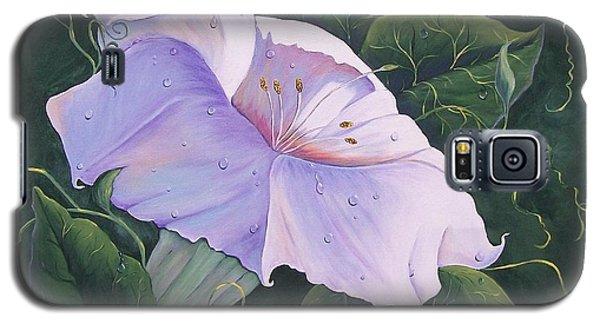 Morning Glory  Galaxy S5 Case by Sharon Duguay