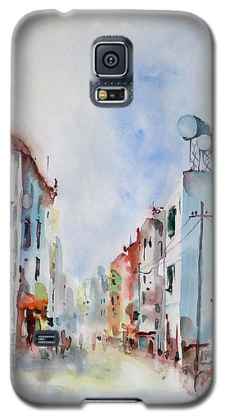 Galaxy S5 Case featuring the painting Summer Morning by Faruk Koksal