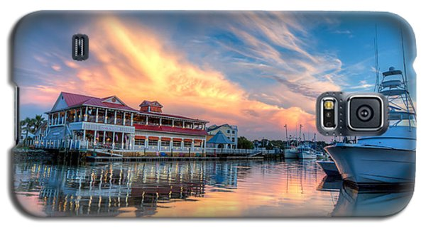 Summer Nights On Shem Creek Galaxy S5 Case