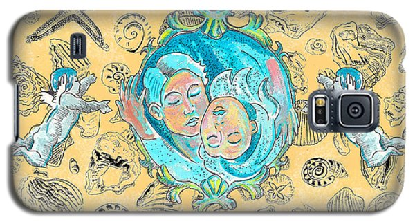 Galaxy S5 Case featuring the painting Summer Of Love by John Keaton