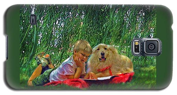 Summer Reading Galaxy S5 Case by Jane Schnetlage