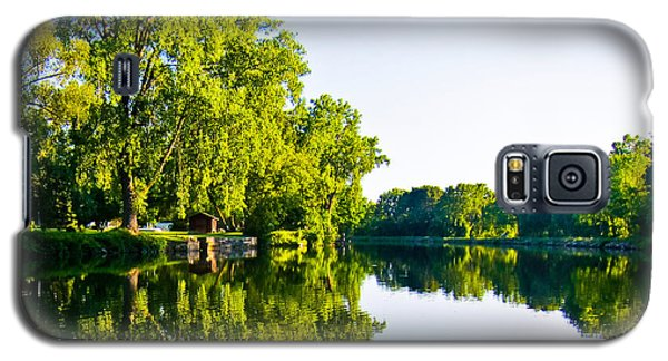 Galaxy S5 Case featuring the photograph Summer Reflections by Sara Frank