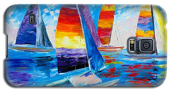 Summer Regatta Galaxy S5 Case