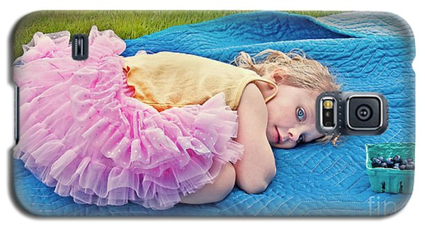 Summer Rest With Blueberries Galaxy S5 Case