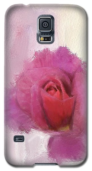 Galaxy S5 Case featuring the digital art Summer Rose by Mary M Collins