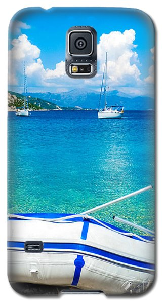 Summer Sailing In The Med Galaxy S5 Case