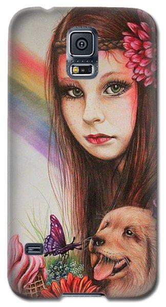Summer Galaxy S5 Case by Sheena Pike