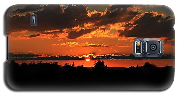 Summer Silhouette Sunset Galaxy S5 Case