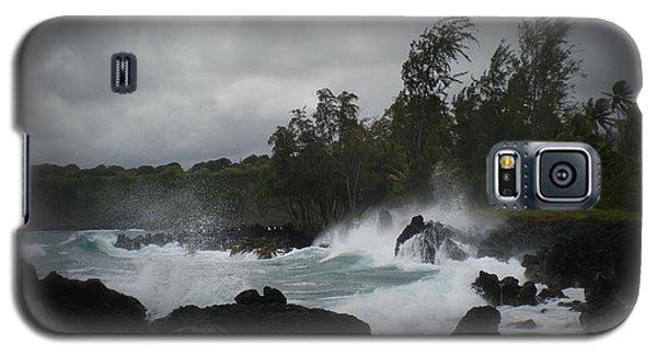 Summer Storm Hana Bay Hawaii Galaxy S5 Case