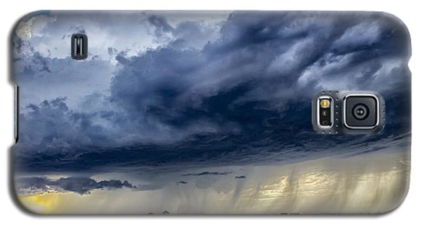 Galaxy S5 Case featuring the photograph Summer Storm Twin Falls Idaho by Michael Rogers