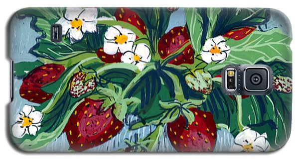Summer Strawberries Galaxy S5 Case