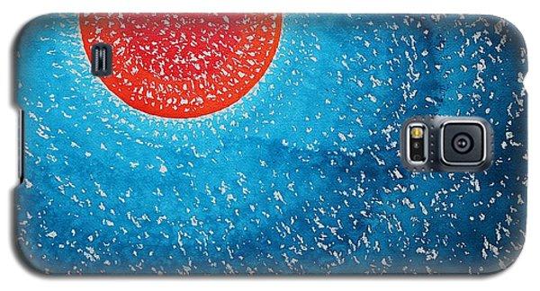 Summer Sun Original Painting Galaxy S5 Case