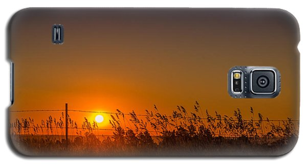 Summer Sunrise On The Plains Galaxy S5 Case