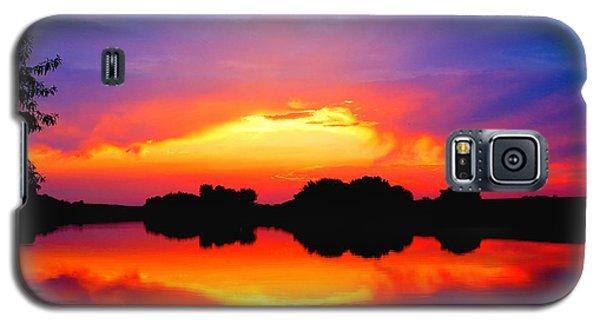 Summer Sunset  Galaxy S5 Case by Lynn Hopwood
