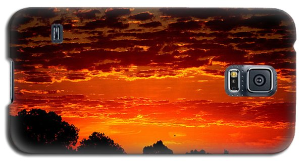 Summer Sunset Galaxy S5 Case by Mark Blauhoefer