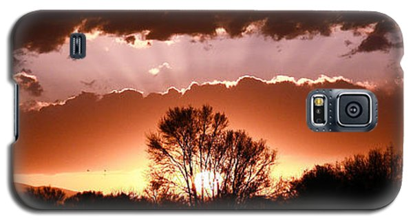 Galaxy S5 Case featuring the photograph Summer Sunset by Steven Reed