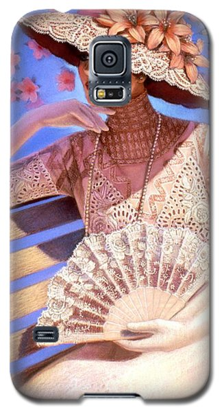 Galaxy S5 Case featuring the painting Summer Time by Sue Halstenberg