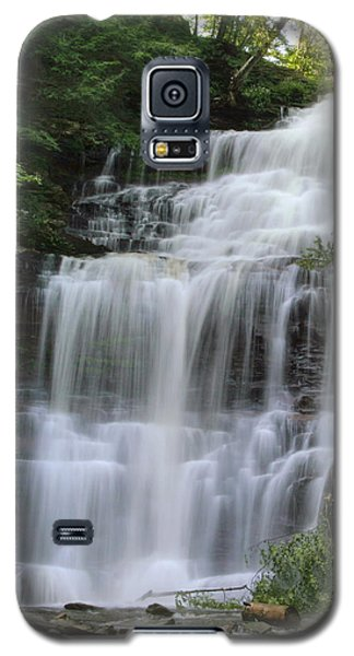 Summertime At Ganoga Falls In Rickett's Glen Galaxy S5 Case