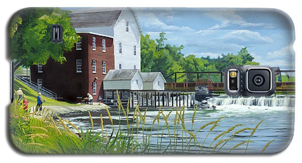 Summertime At The Old Mill Galaxy S5 Case