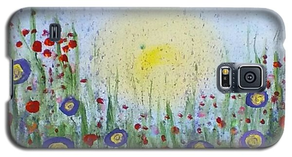 Galaxy S5 Case featuring the painting Summertime by Carol Duarte