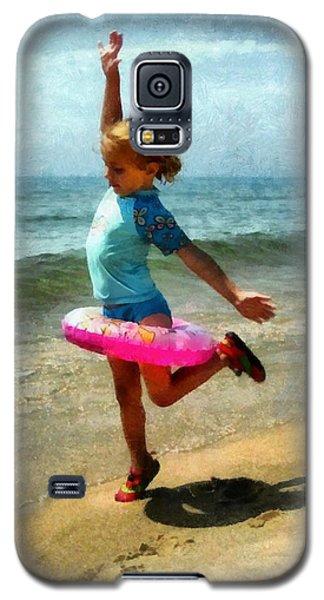 Summertime Girl Galaxy S5 Case