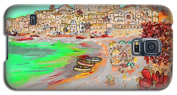 Summertime In Cefalu' Galaxy S5 Case by Loredana Messina
