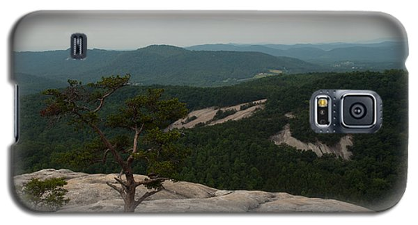 Summit Of Stone Mountain State Park In North Carolina Galaxy S5 Case