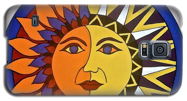 Sun And Moon Galaxy S5 Case