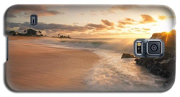 Sun And Sandy Beach Galaxy S5 Case