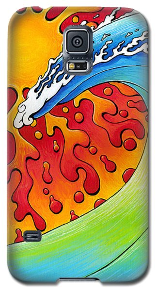 Sun And Surf Galaxy S5 Case