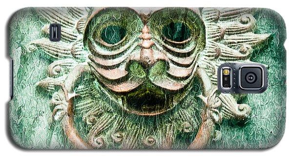 Sun Cat Door Knocker Old Polar Galaxy S5 Case