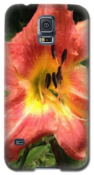 Sun Day Lilly  Galaxy S5 Case