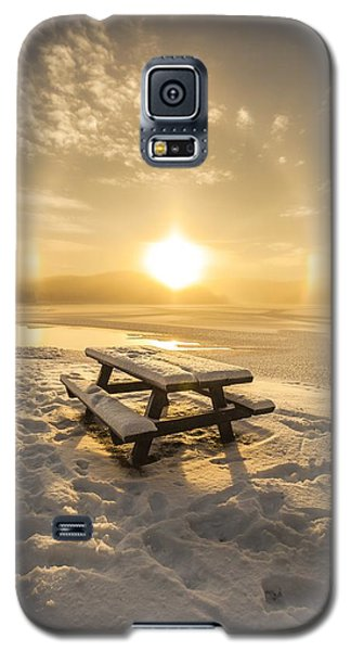 Sun Dog Galaxy S5 Case by Rose-Maries Pictures