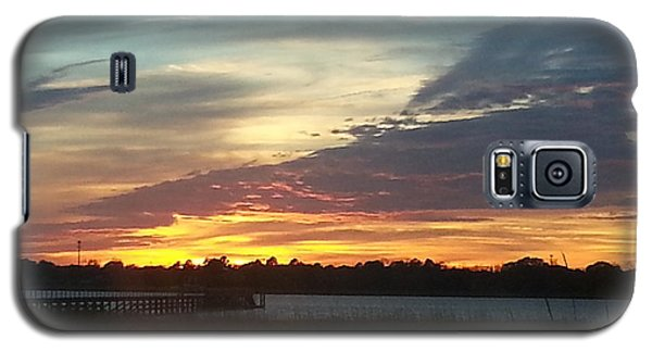 Galaxy S5 Case featuring the photograph Sun Down Destiny by Joetta Beauford