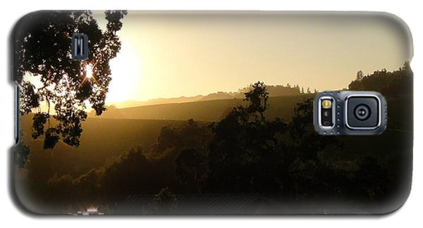 Sun Down Galaxy S5 Case by Shawn Marlow