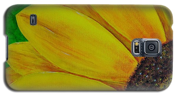 Galaxy S5 Case featuring the painting Sun Flower by Melvin Turner