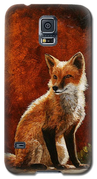 Sun Fox Galaxy S5 Case by Crista Forest