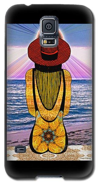 Sun Girl's Back Galaxy S5 Case