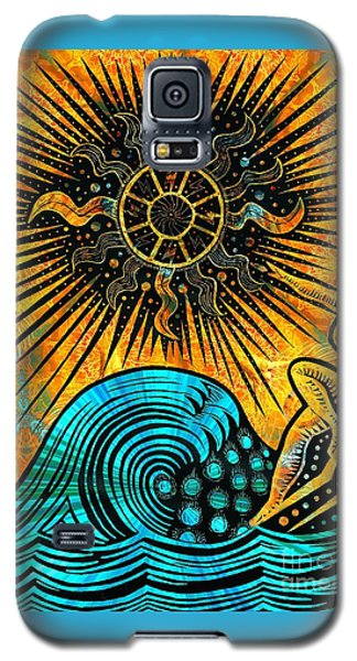 Big Sur Sun Goddess Galaxy S5 Case