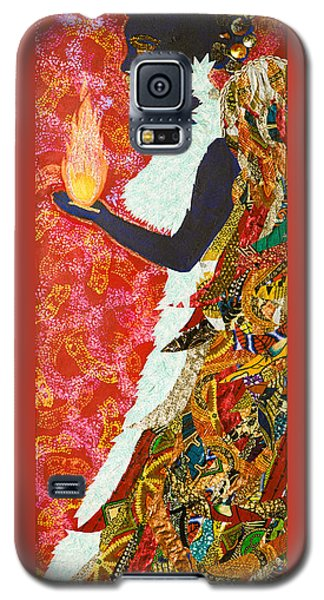 Sun Guardian - The Keeper Of The Universe Galaxy S5 Case