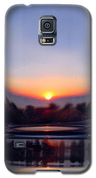 Sun In The Glass Galaxy S5 Case