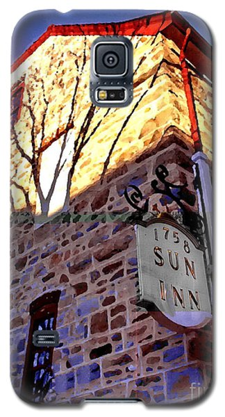 Sun Inn Bethlehem Pa Galaxy S5 Case by Jacqueline M Lewis