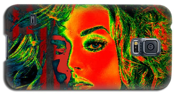 Galaxy S5 Case featuring the digital art Sun Kissed by Digital Art Cafe