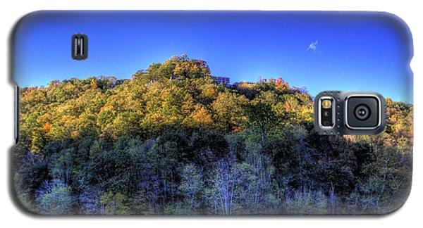 Galaxy S5 Case featuring the photograph Sun On Autumn Trees by Jonny D
