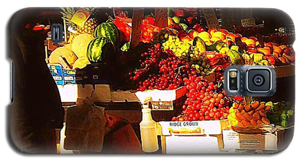 Galaxy S5 Case featuring the photograph Sun On Fruit by Miriam Danar