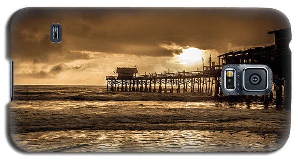 Sun Over The Pier Galaxy S5 Case by Steven Reed
